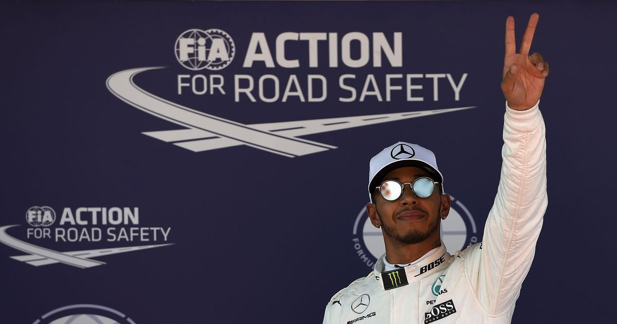 Lewis Hamilton on pole position for Spanish Grand Prix, Sebastian Vettel finishes second fastest