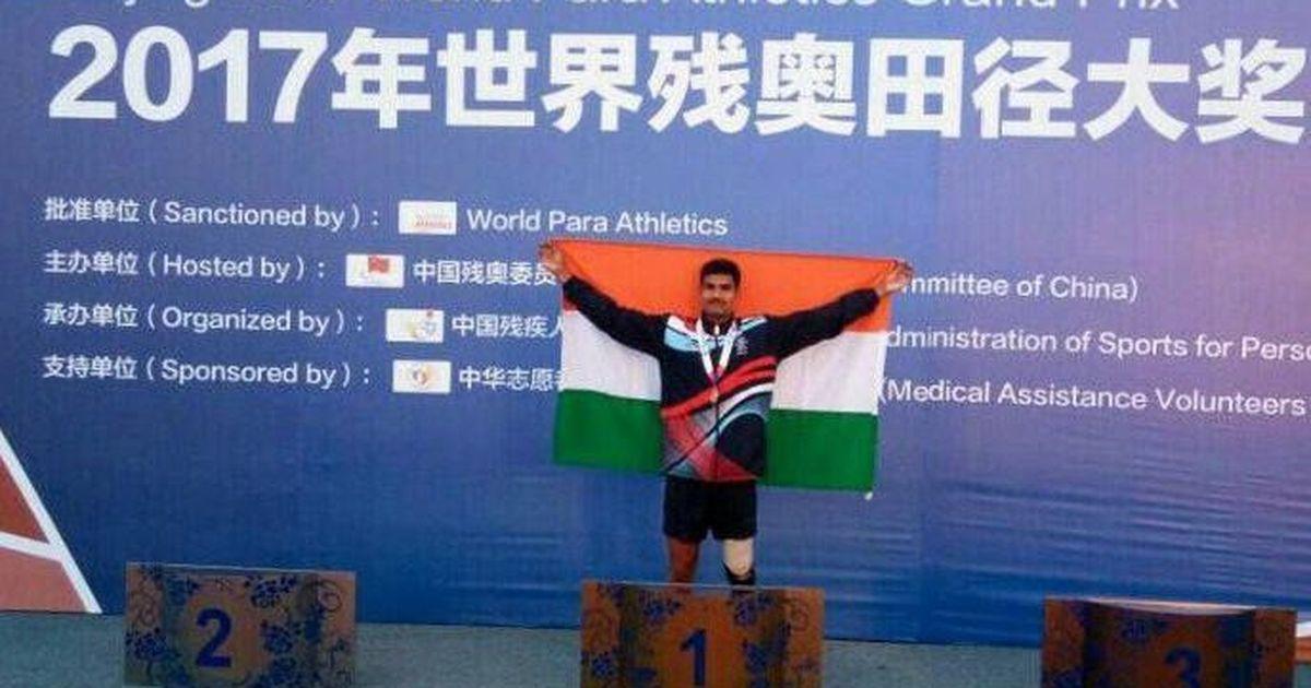 Indian blade runner Ramudri Someshwara Rao bags gold at 2017 World Para Athletics Grand Prix
