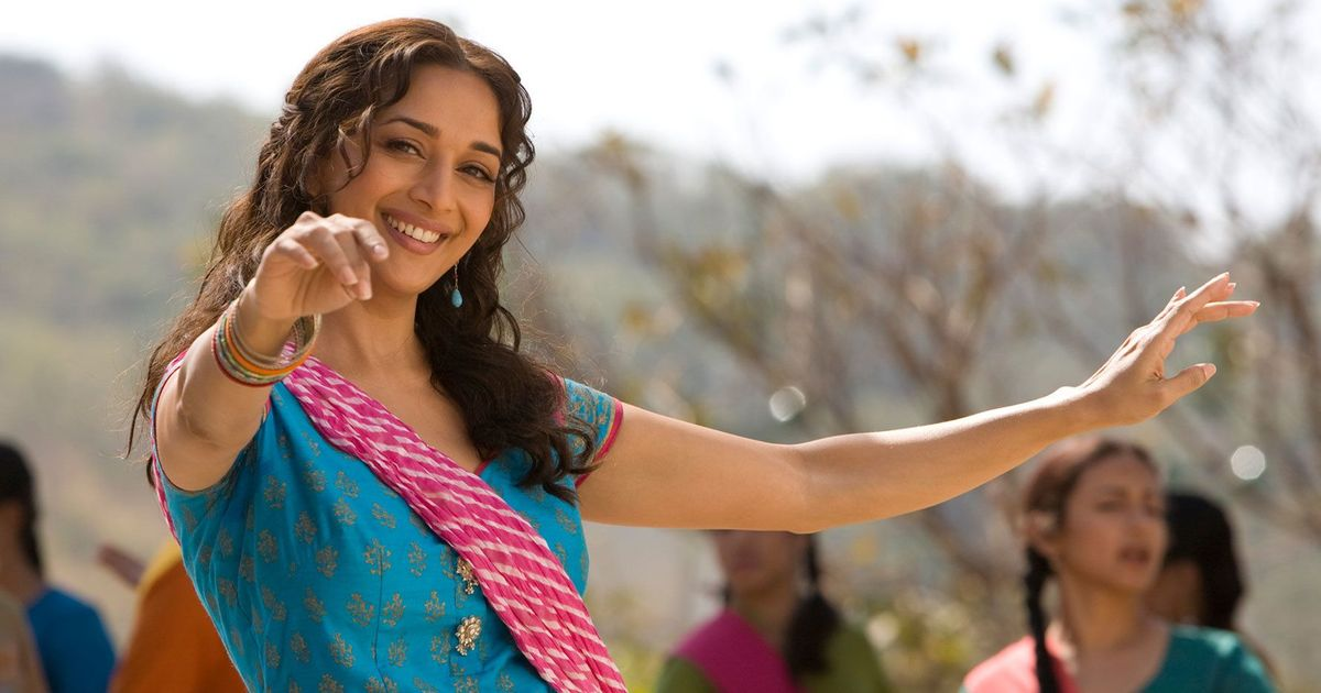 What is on our playlist for the Madhuri Dixit-themed birthday party