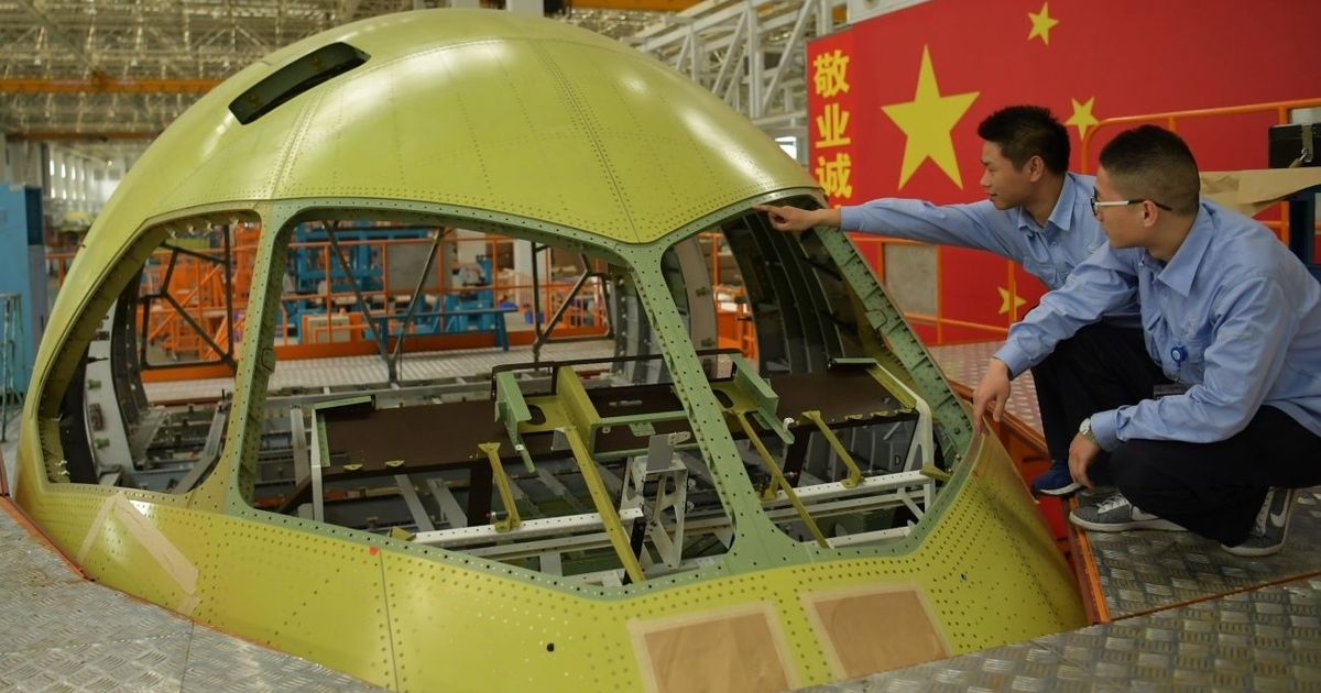 Forget One Belt One Road, India should worry that China's competitor to Boeing, Airbus has taken off