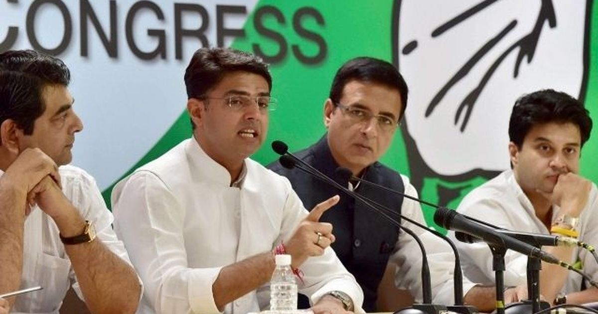 As Congress showcases its next line of leaders, it fails to shake off the tag of party of dynasts