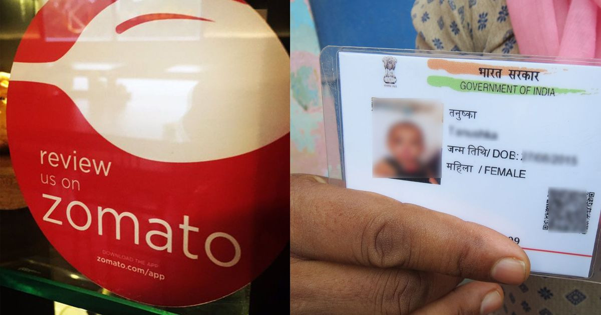 What the Aadhaar authority needs to learn from Zomato's response to hacking
