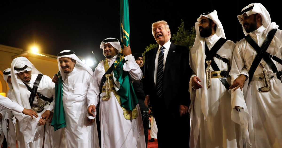 Donald Trump signs 'tremendous' $110-billion arms deal with Saudi Arabia on first official trip
