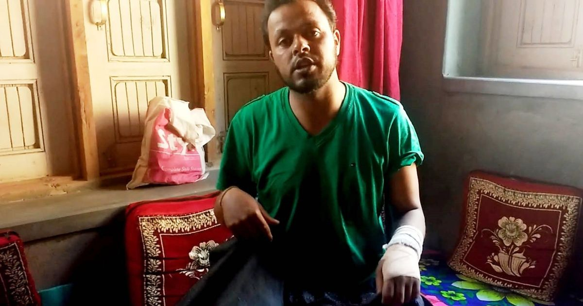 Man used as 'human shield' moves state human rights body against Army honouring the accused officer