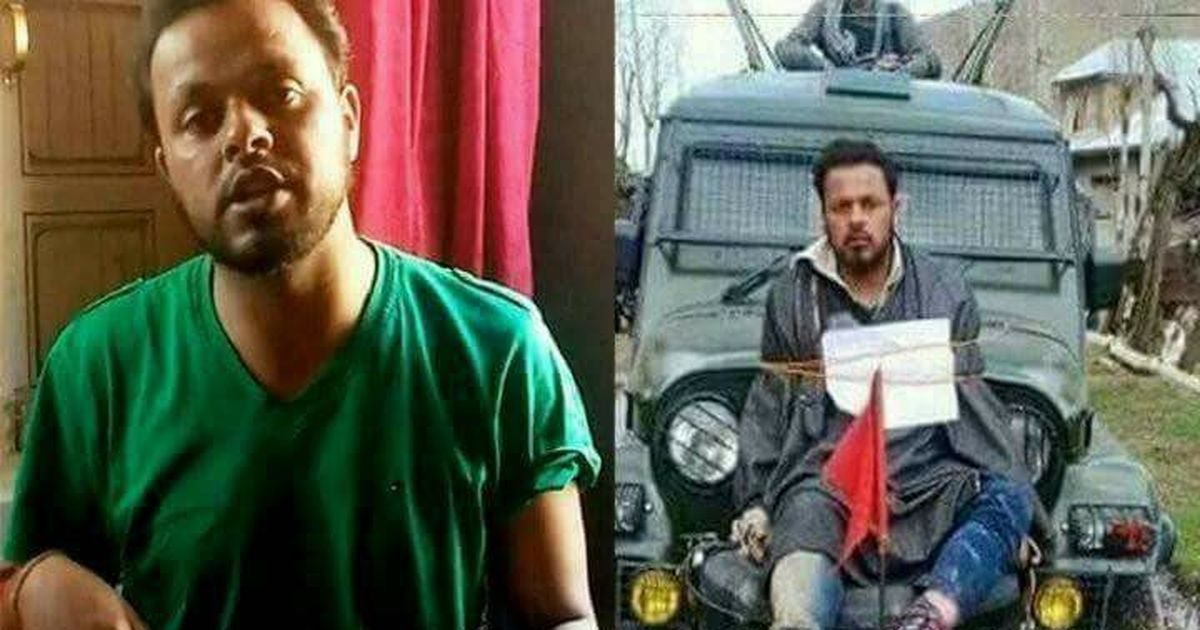 Readers' comments: Was the man used as a shield in Kashmir not human?