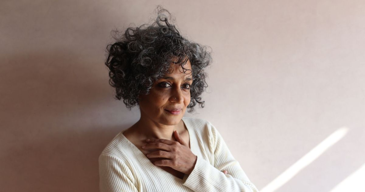 'To me fiction can never be a manifesto with animated characters doing your bidding:' Arundhati Roy