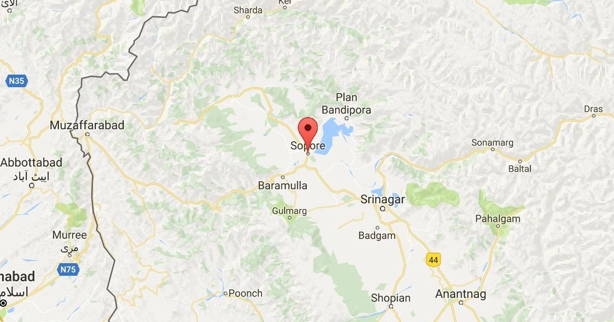 Kashmir: At least four policemen injured in grenade attack by suspected militants in Sopore
