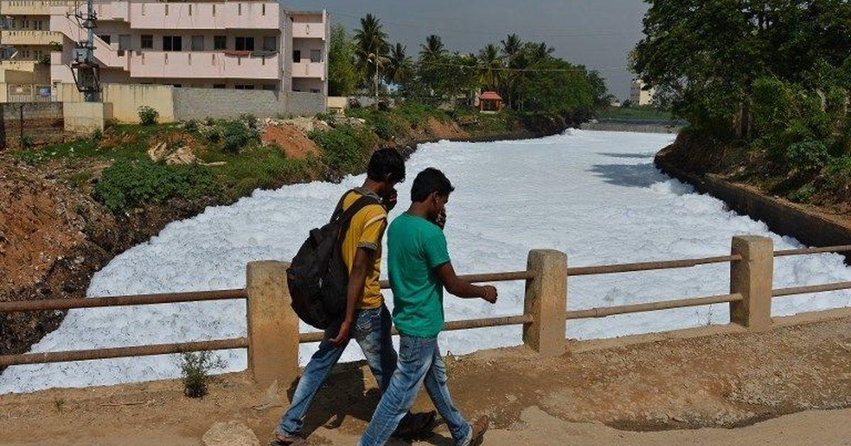 Bengaluru: NGT pulls up Karnataka government for toxic foam from Varthur lake
