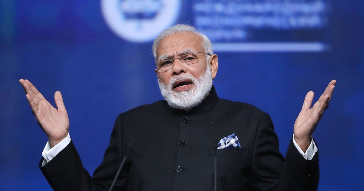 Modi brings up vedas when asked about Trump's decision to exit the Paris climate accord