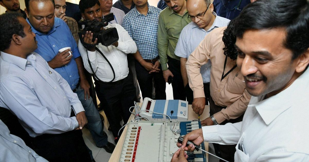 EVM challenges that were not: No tampering attempt at poll panel event, no hackathon by AAP