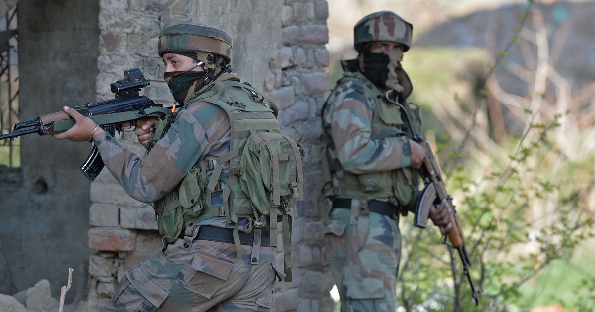 Kashmir: Four militants killed as they attack a CRPF camp in Bandipora district
