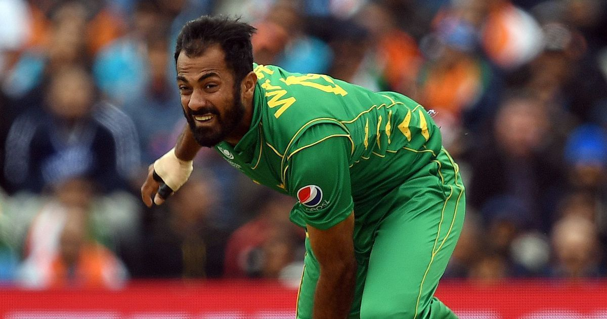 Pakistan pacer Wahab Riaz out of Champions Trophy with an ankle injury