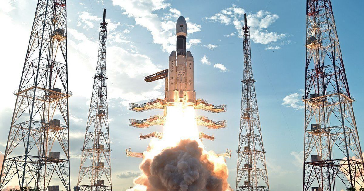 In photos: Isro's 'heaviest ever' rocket and satellite before its historic launch