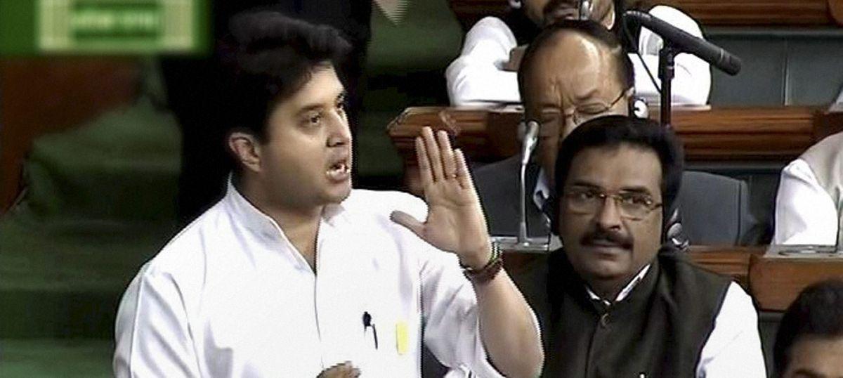 MP: After Hardik Patel, Congress leader Jyotiraditya Scindia arrested while trying to enter Mandsaur