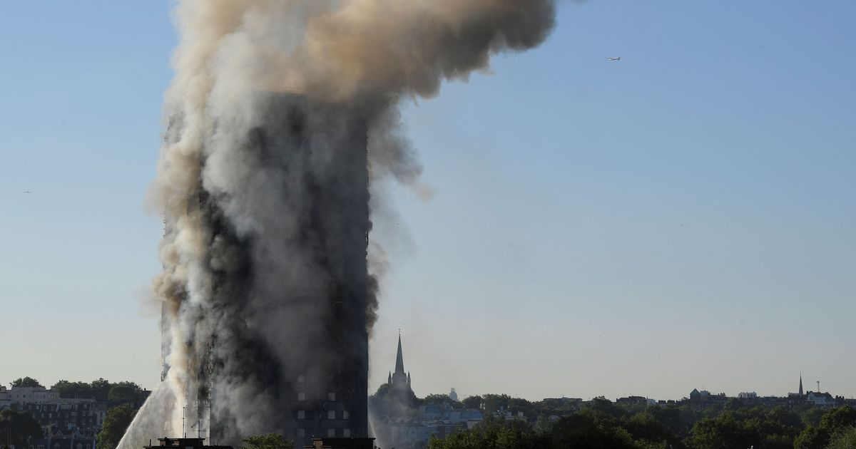 'A number of fatalities', says London fire commissioner after massive blaze engulfs  building