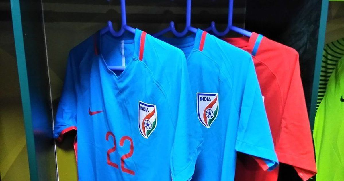 The strange case of the missing India football jersey