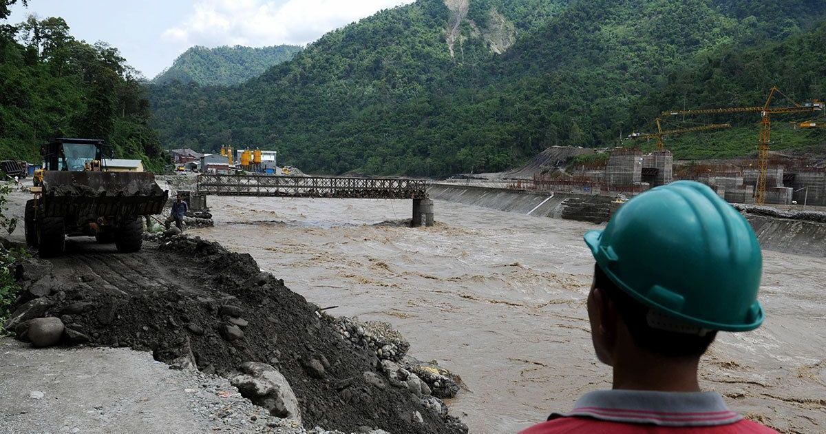Why does the Teesta river run dry in non-monsoon months? Because it has more dams than it needs