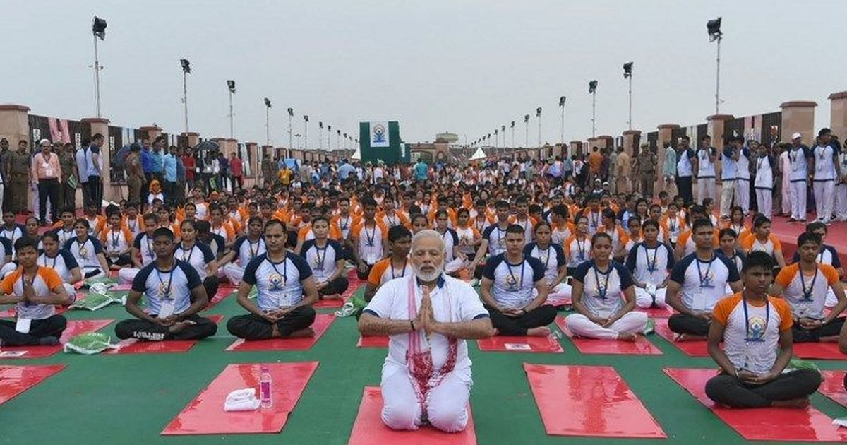 Readers' comments: Yoga is 100% Hindu, it's our gift to the world