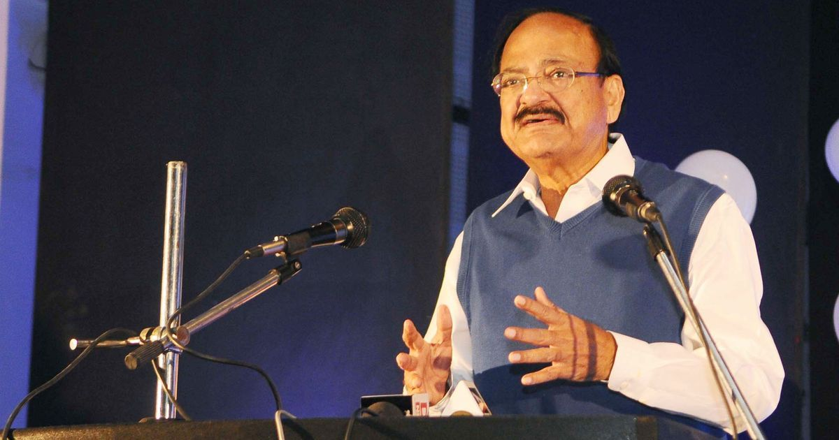 'When did we get a national language?': Venkaiah Naidu criticised for calling Hindi 'rashtra bhasha'