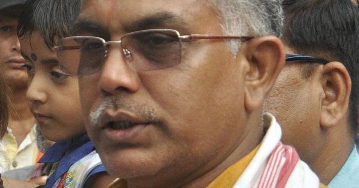 West Bengal BJP chief Dilip Ghosh says party has never supported demand for Gorkhaland
