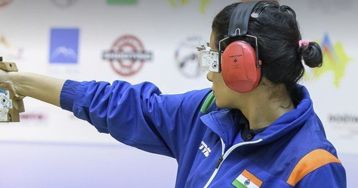 India's Yashaswini Singh Deswal  clinches gold in 10m Air Pistol at junior World Championships