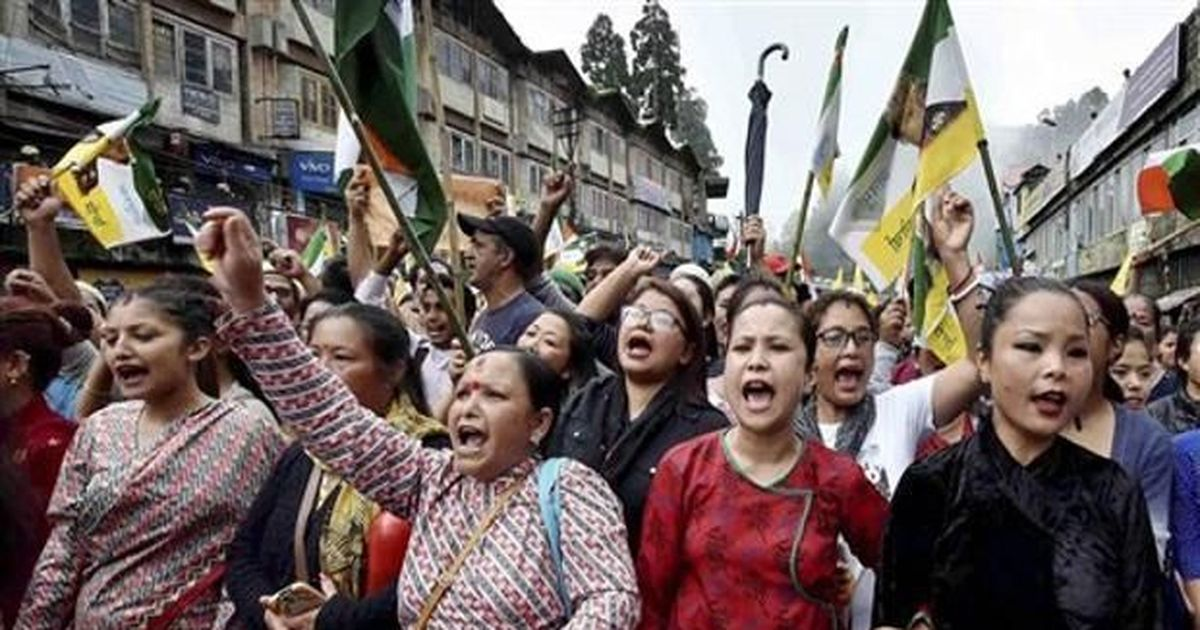 Ma, mati, manush and my mother tongue: Bengal's language politics is behind the unrest in Darjeeling