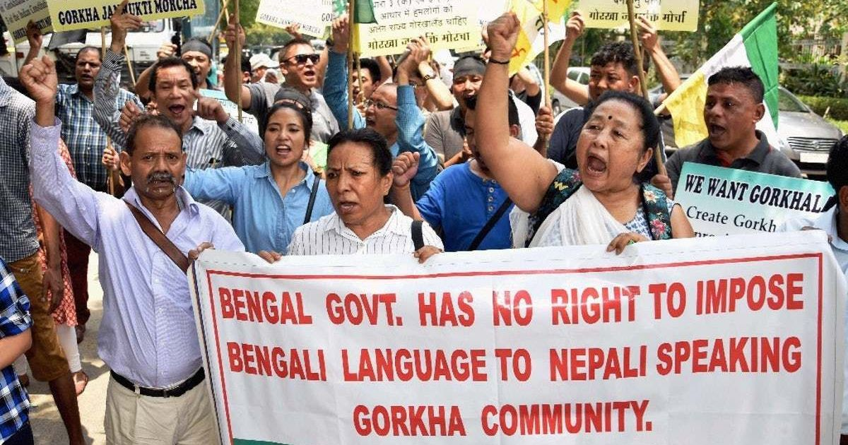 What explains the BJP's U-turn on the Gorkhaland issue?