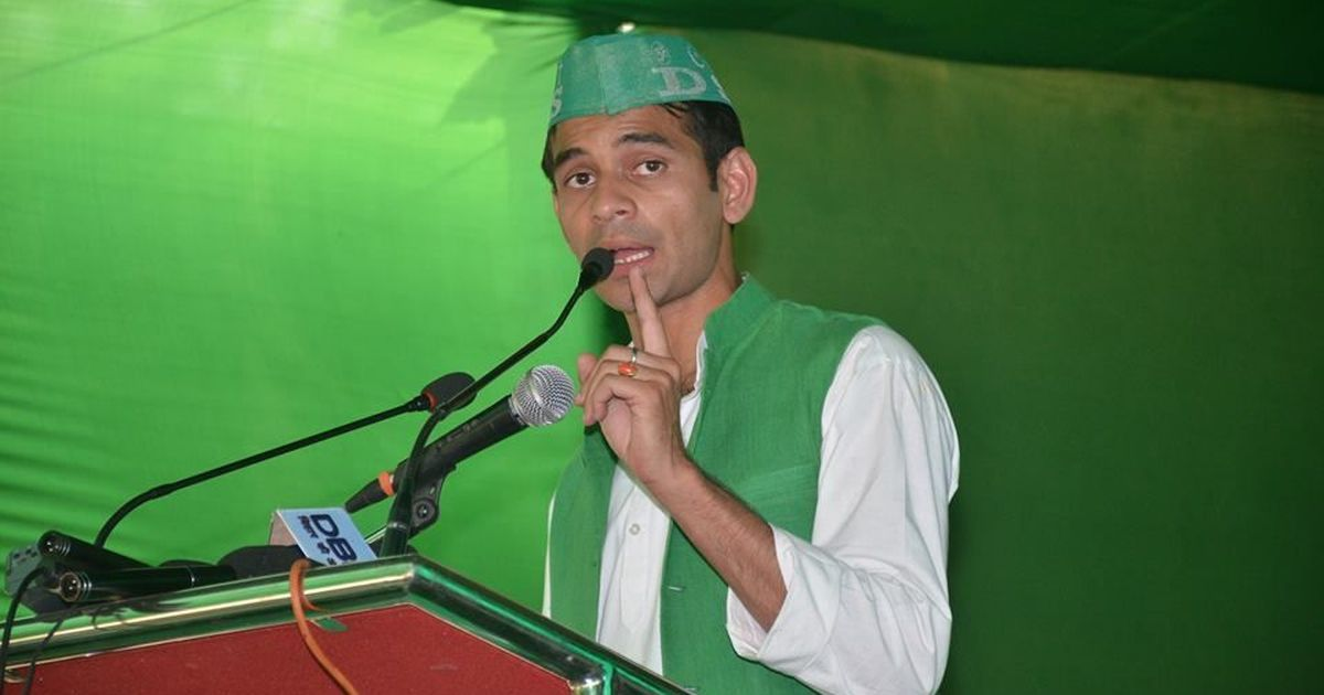 BJP wants EC to disqualify Bihar Health Minister Tej Pratap Yadav from state Assembly