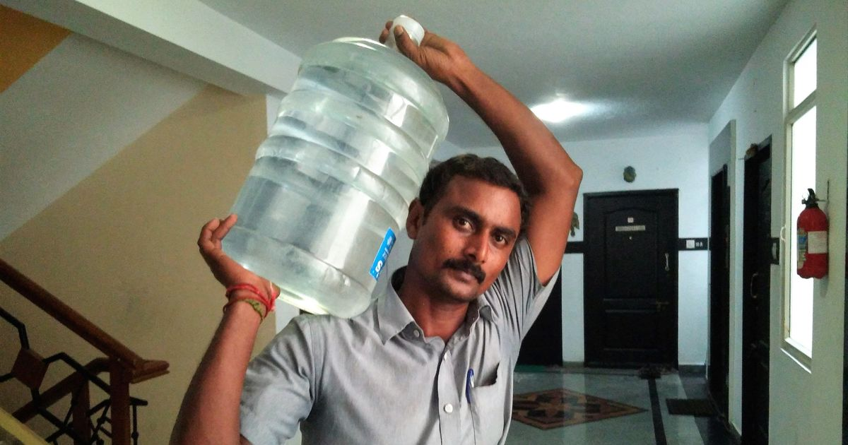 Tamil Nadu government says there is no water scarcity problem in the state
