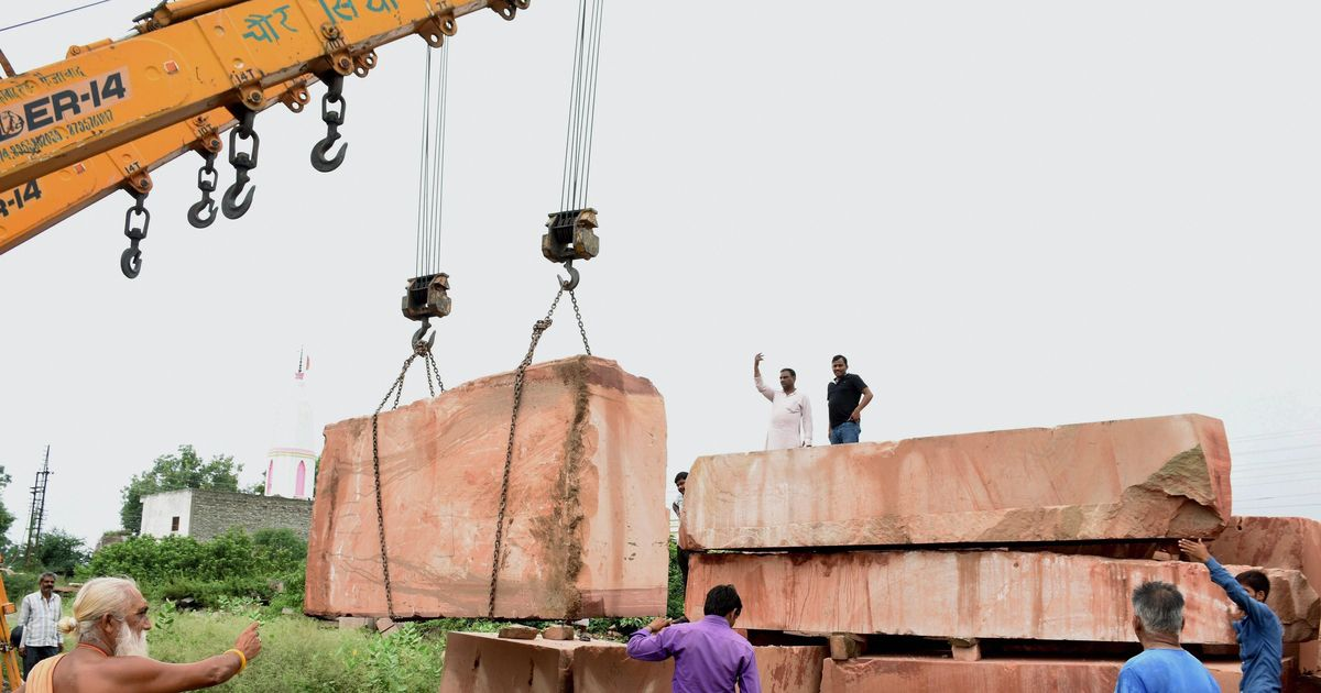 The big news: VHP gets truckloads of stones to build Ram Temple in Ayodhya, and 9 other top stories