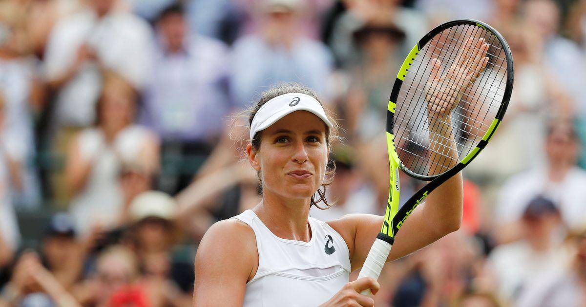 Wimbledon: Johanna Konta defeats Maria Sakkari, advances into the last-16 for the first time