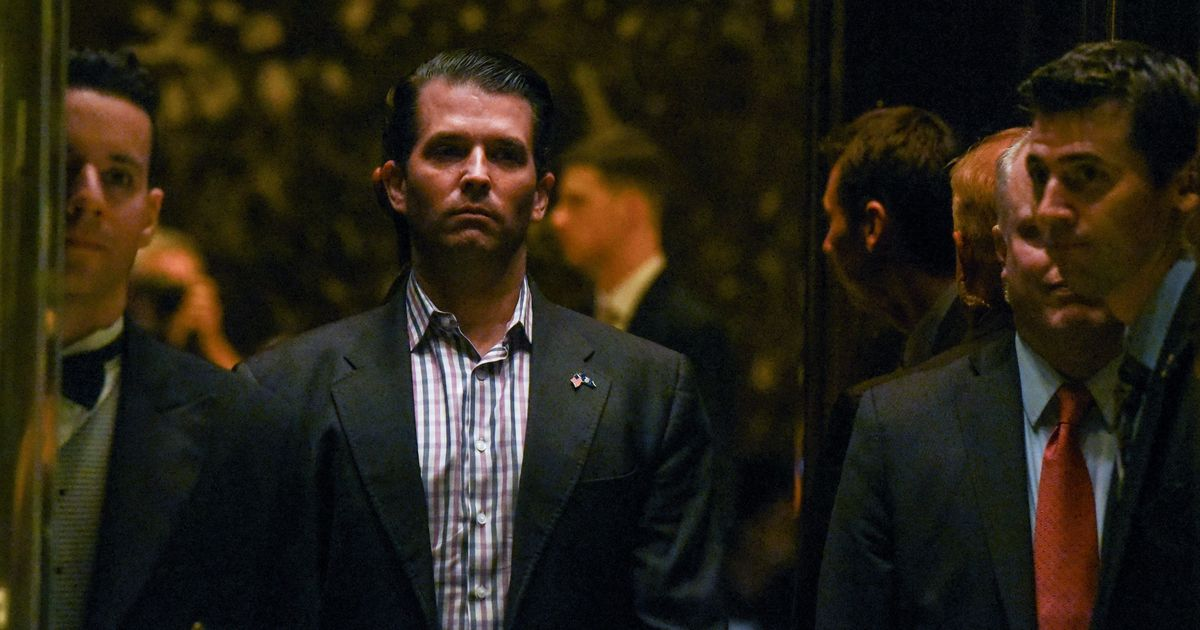 Trump's son admits to meeting Russian lawyer to obtain 'damaging evidence' on Clinton: NYT