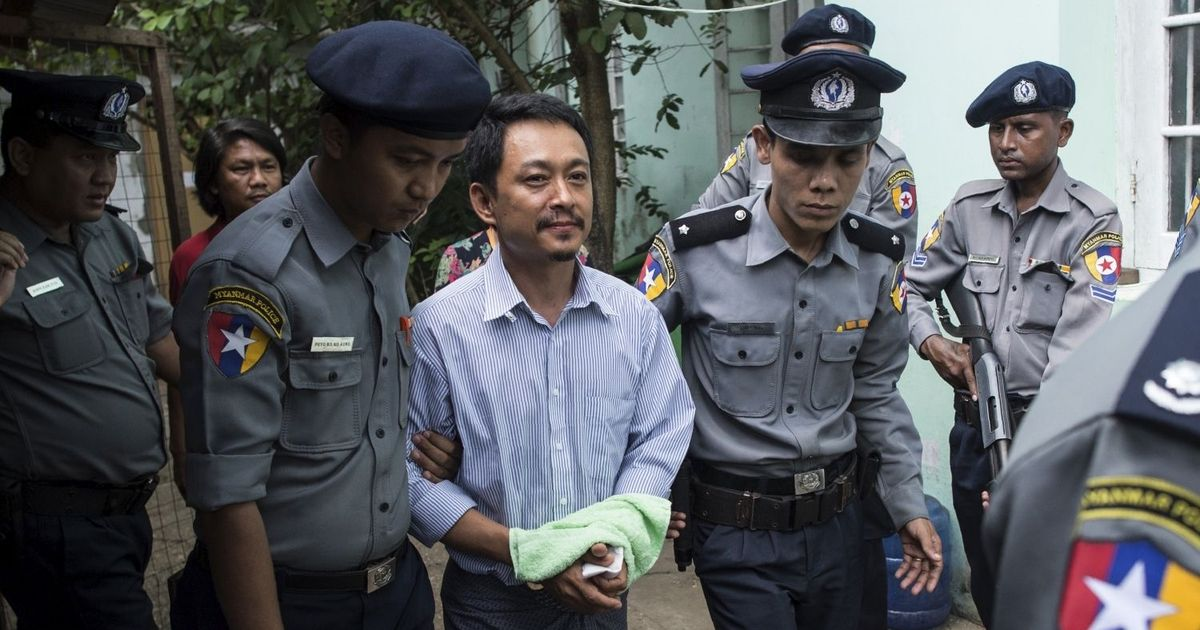 Faced with state repression, journalists in Myanmar push back strongly