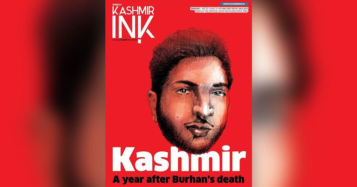 Facebook blocks magazine cover featuring Hizbul Mujahideen militant Burhan Wani