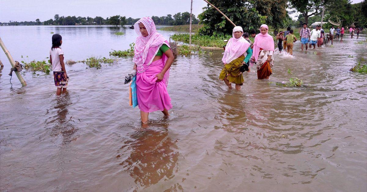 Assam: Toll rises to 44, prime minister asks Kiren Rijiju to visit flooded areas