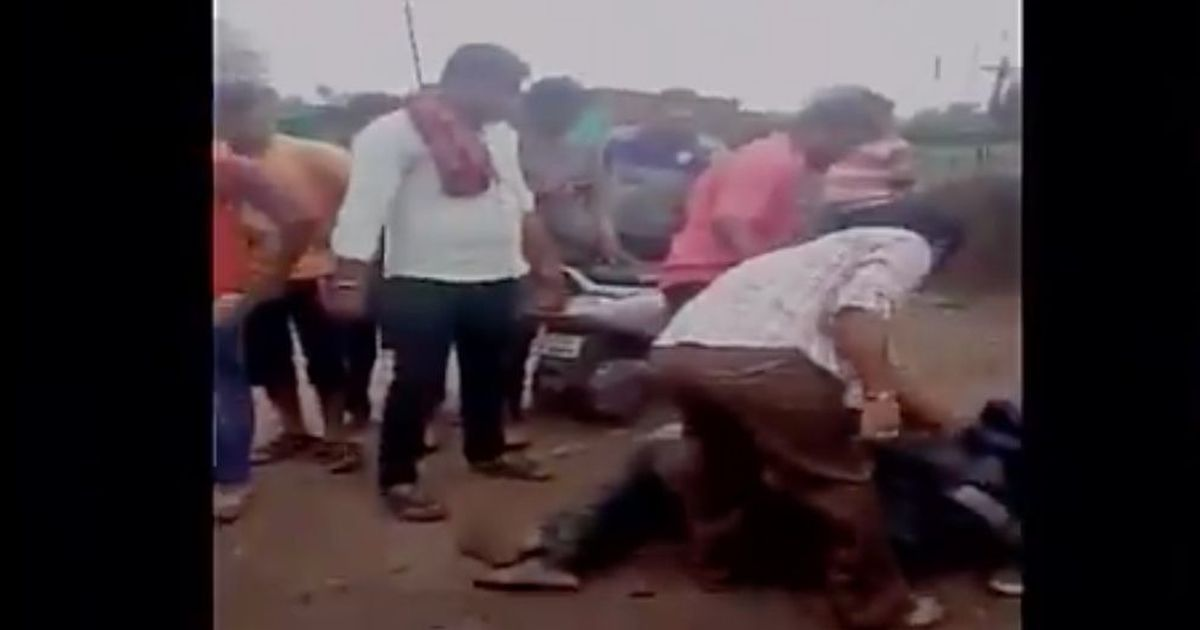 Watch: Man beaten up for allegedly carrying beef in Nagpur