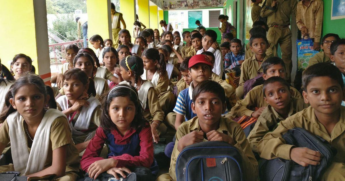 Children are leaving private schools for government schools in some Uttar Pradesh villages
