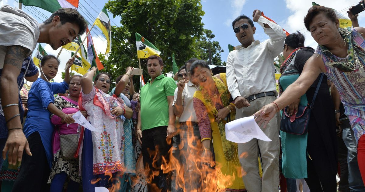 The BJP has avoided facing the heat of the Gorkhaland stir so far – but how long will it be safe?