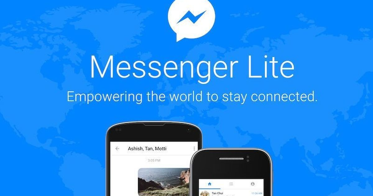 Facebook's Messenger Lite comes to India's Android users