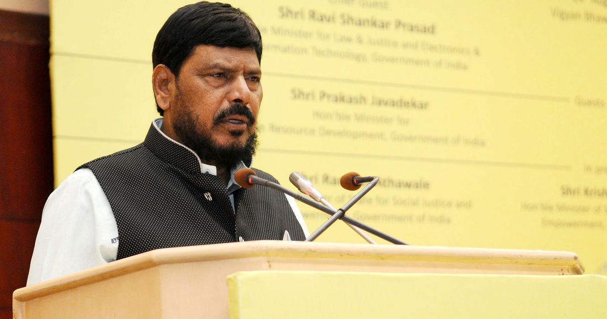 Every individual has the right to eat beef, says Union minister Ramdas Athawale