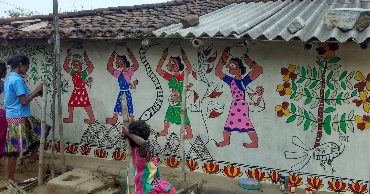 Sex selection, Bollywood, urban chaos: Madhubani art is finding new themes after decades