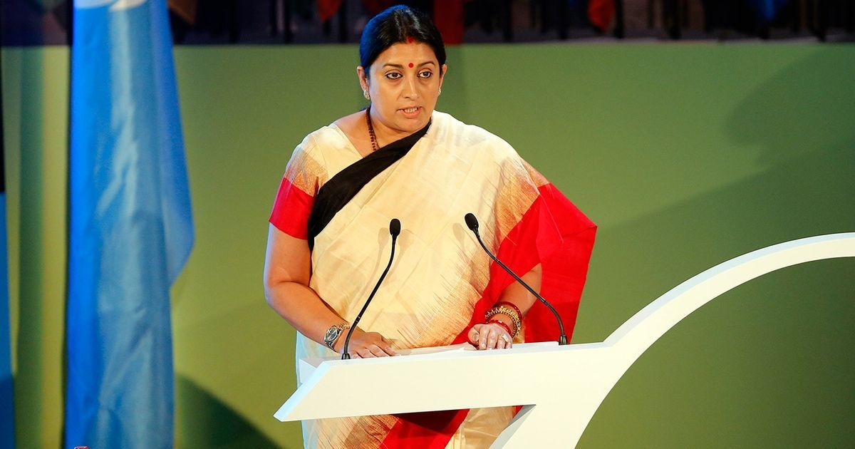 Smriti Irani gets additional charge of Information and Broadcasting ministry