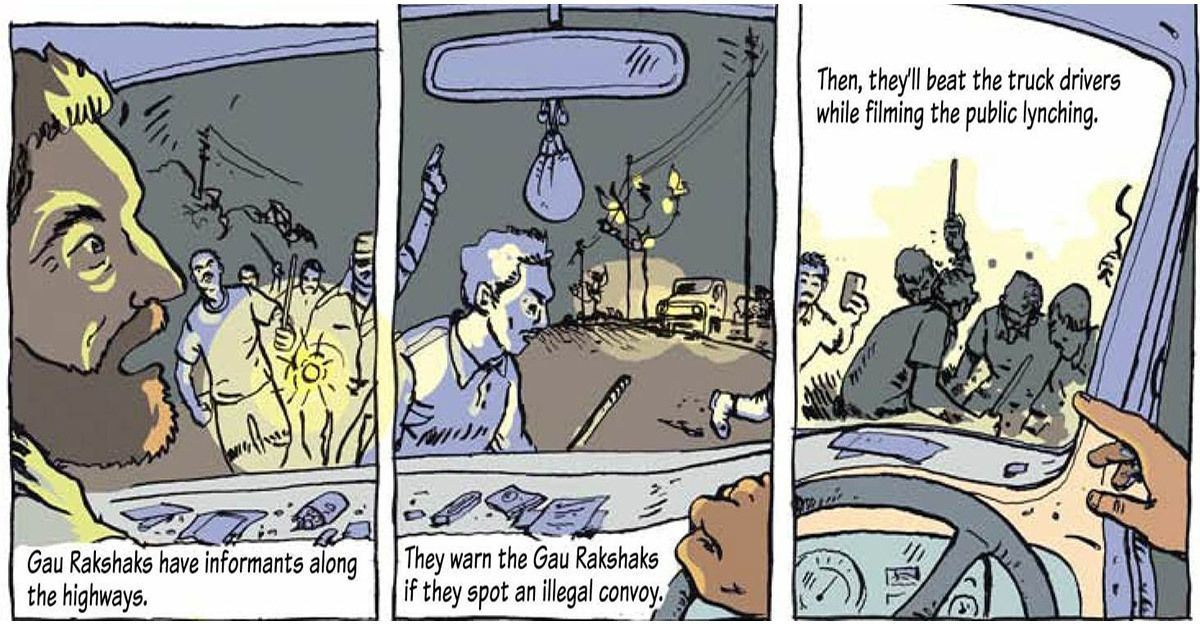 A French comic book uses India's war on beef to illustrate the dangers of Hindutva