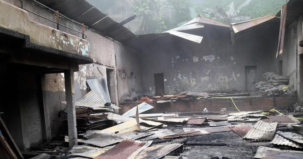 Darjeeling violence: British-era community hall set on fire in Kurseong