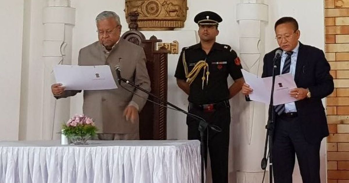 Naga People's Front expels TR Zeliang for 'anti-party activities' after he is made chief minister