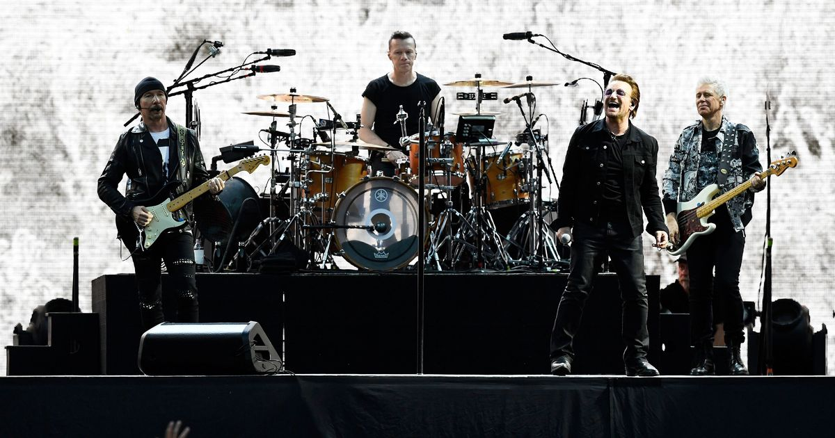 Rock band U2 to pay Hertha Berlin for new pitch ahead of their clash against Liverpool