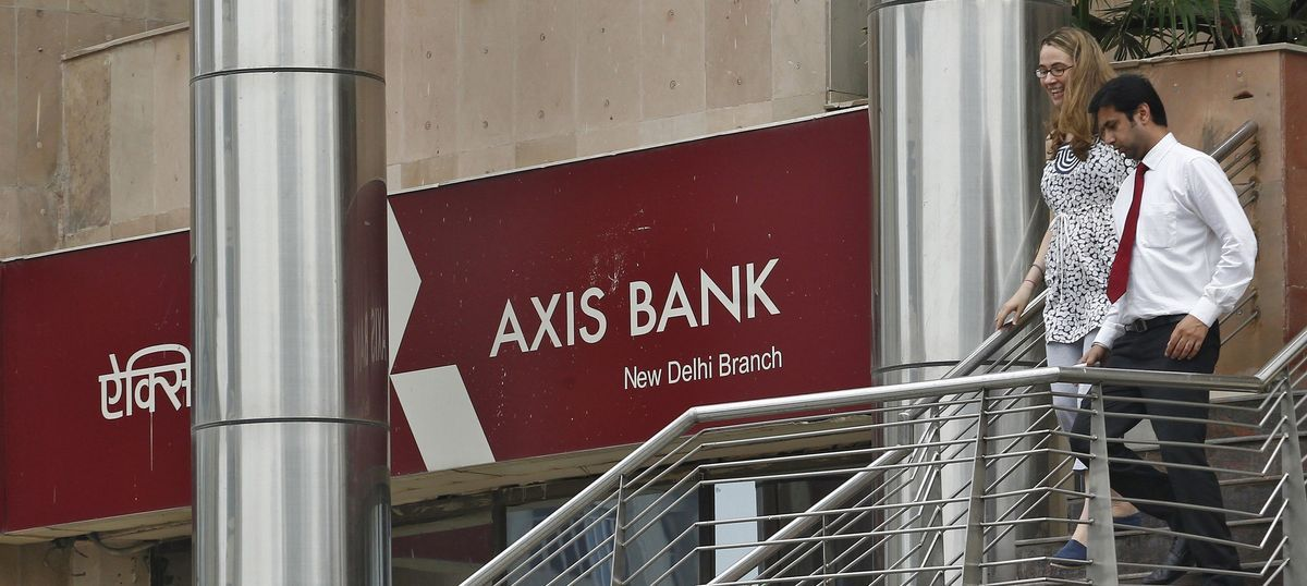 Axis Bank profit drops 16% in Q1 to Rs 1,306 crore