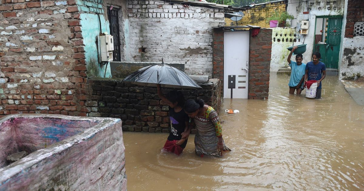 A family of 17 has been found among those killed in the Gujarat floods
