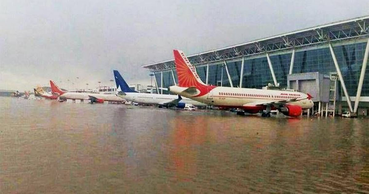 PTI fires photographer after Smriti Irani tweets about wrong image used for Ahmedabad's airport