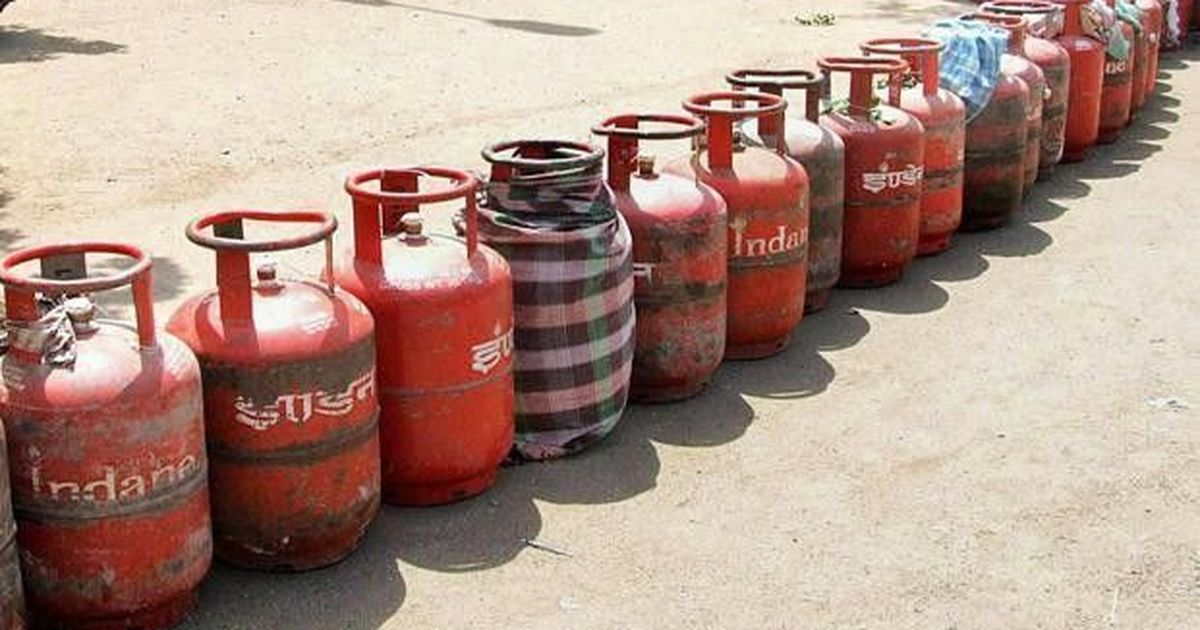 Centre says it has asked state-run oil companies to raise LPG prices by Rs 4 per cylinder